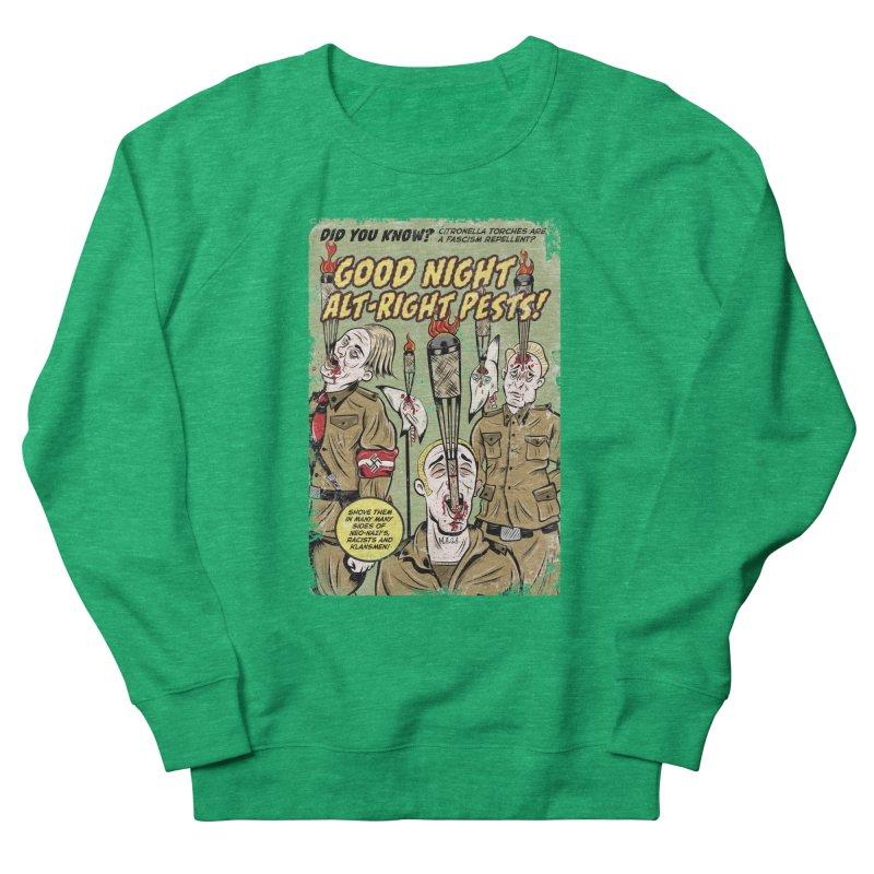 Citronella: Fascism Repellent Men's Sweatshirt by Pat Higgins Illustration