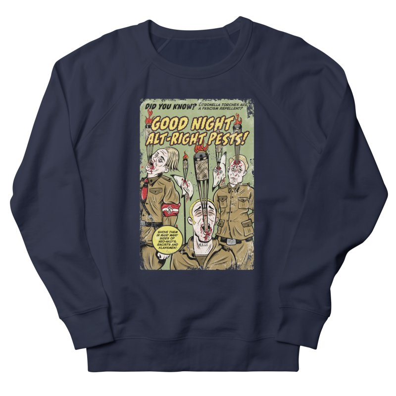 Citronella: Fascism Repellent Men's Sweatshirt by Pat Higgins Illustration
