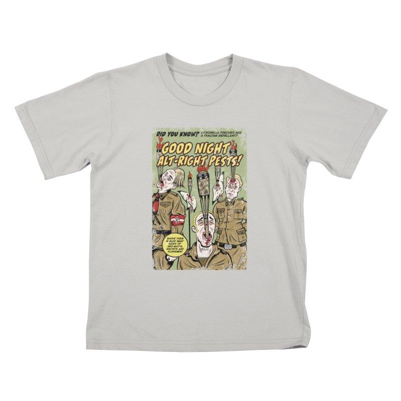 Citronella: Fascism Repellent Kids T-Shirt by Pat Higgins Illustration