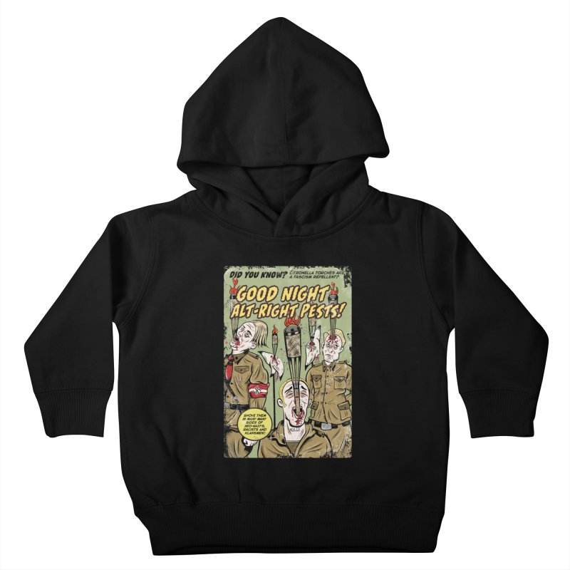 Citronella: Fascism Repellent Kids Toddler Pullover Hoody by Pat Higgins Illustration