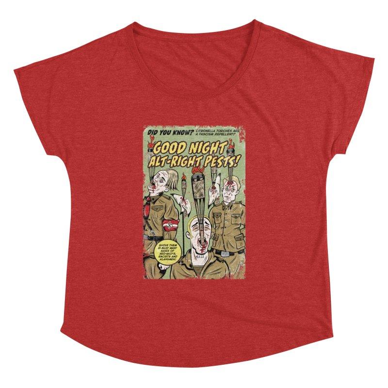 Citronella: Fascism Repellent Women's Dolman by Pat Higgins Illustration