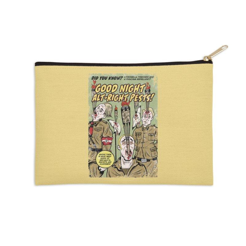 Citronella: Fascism Repellent Accessories Zip Pouch by Pat Higgins Illustration