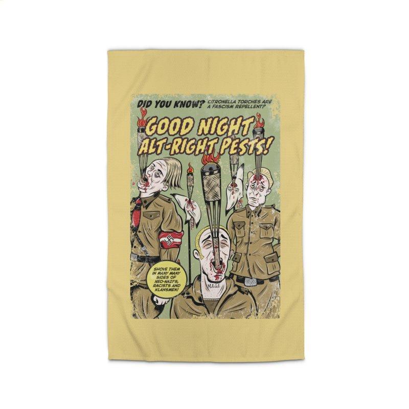 Citronella: Fascism Repellent Home Rug by Pat Higgins Illustration