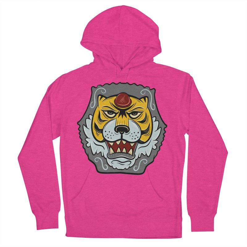 La Tigre Della Strada Men's Pullover Hoody by Pat Higgins Illustration