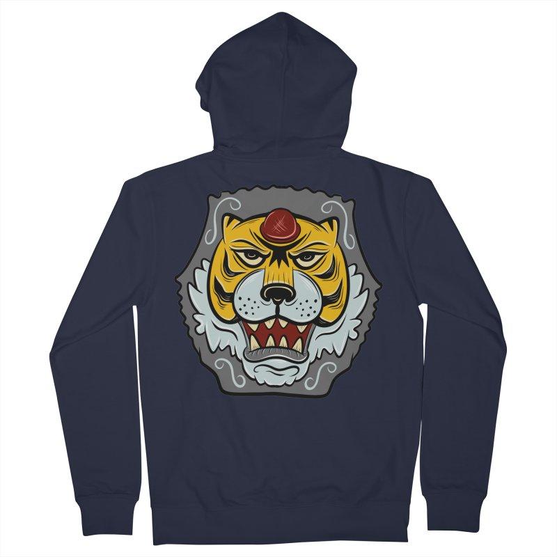 La Tigre Della Strada Men's Zip-Up Hoody by Pat Higgins Illustration