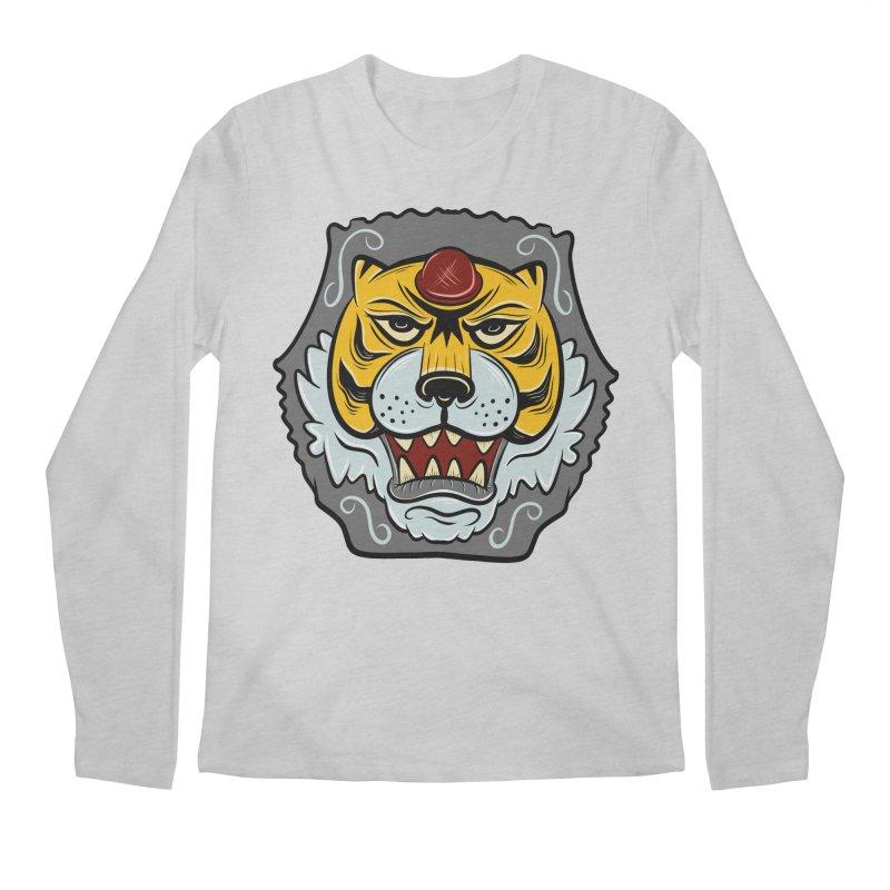 La Tigre Della Strada Men's Longsleeve T-Shirt by Pat Higgins Illustration