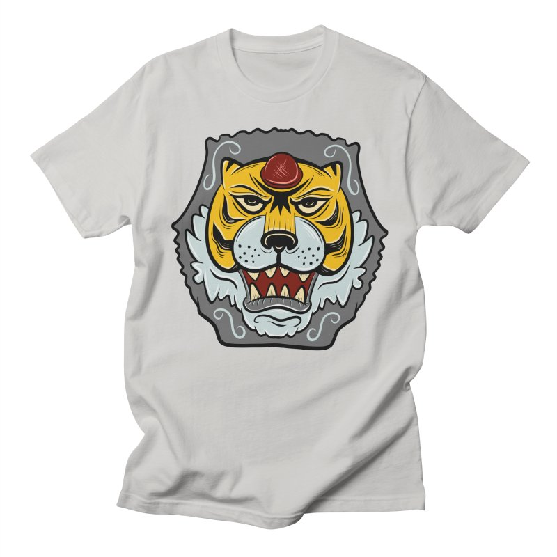 La Tigre Della Strada Men's T-Shirt by Pat Higgins Illustration