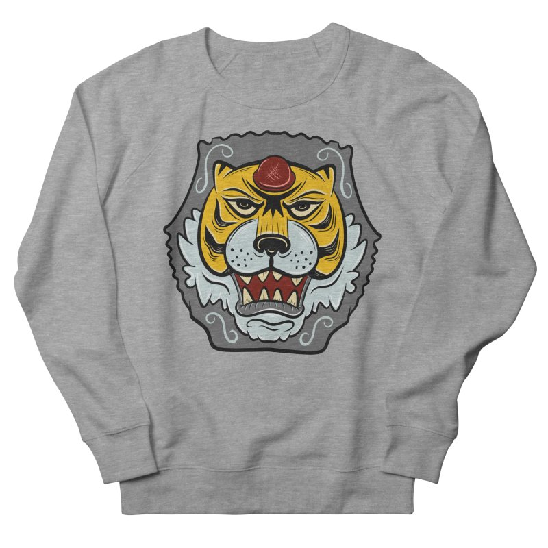 La Tigre Della Strada Women's Sweatshirt by Pat Higgins Illustration
