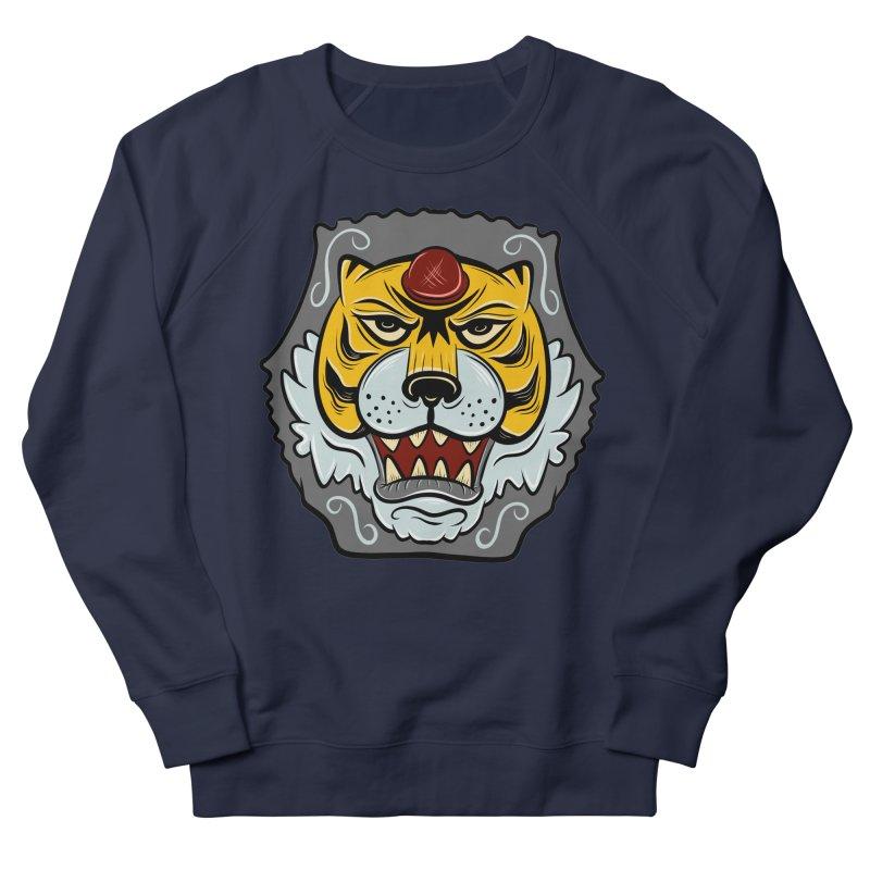 La Tigre Della Strada Men's Sweatshirt by Pat Higgins Illustration