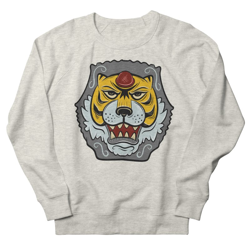 La Tigre Della Strada Men's Sweatshirt by Pat Higgins Illustration