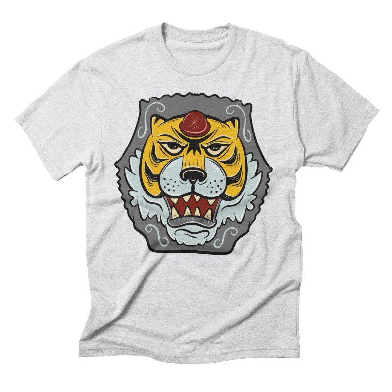 La Tigre Della Strada Men's Triblend T-Shirt by Pat Higgins Illustration