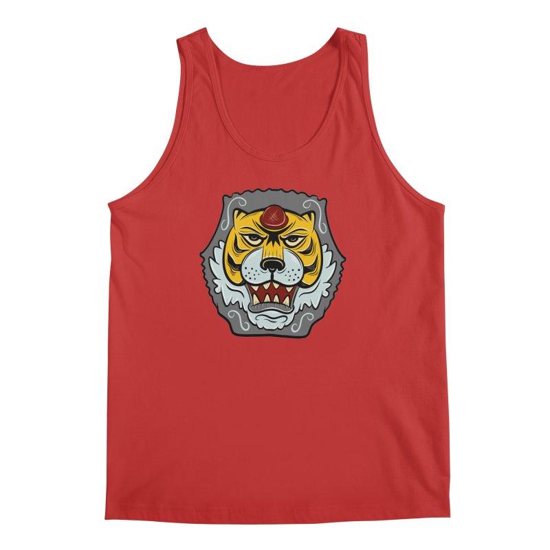La Tigre Della Strada Men's Tank by Pat Higgins Illustration