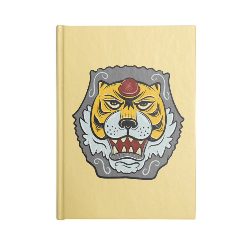 La Tigre Della Strada Accessories Notebook by Pat Higgins Illustration