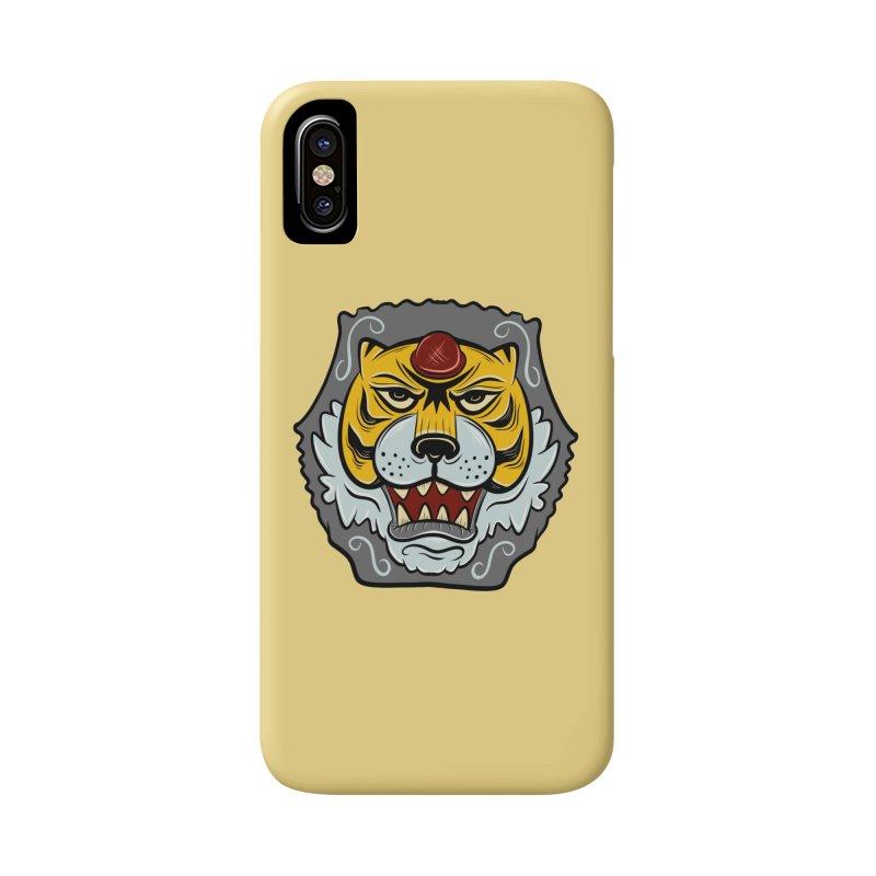 La Tigre Della Strada Accessories Phone Case by Pat Higgins Illustration