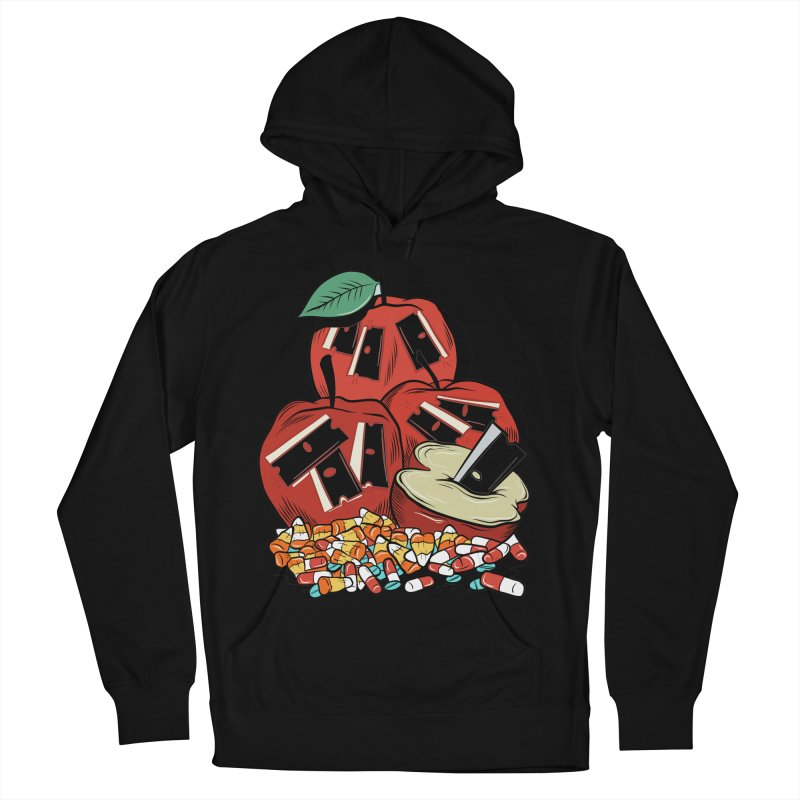 Trick or Treat Women's Pullover Hoody by Pat Higgins Illustration