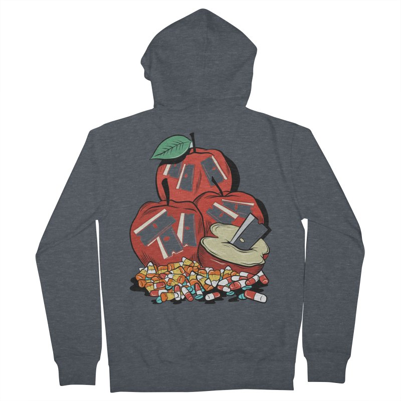 Trick or Treat Women's Zip-Up Hoody by Pat Higgins Illustration