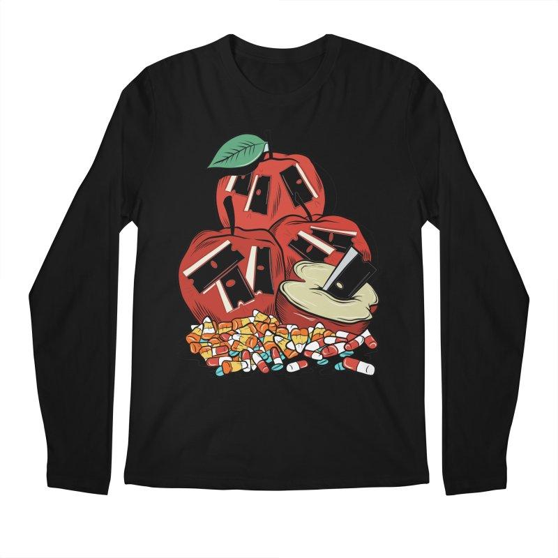 Trick or Treat Men's Longsleeve T-Shirt by Pat Higgins Illustration