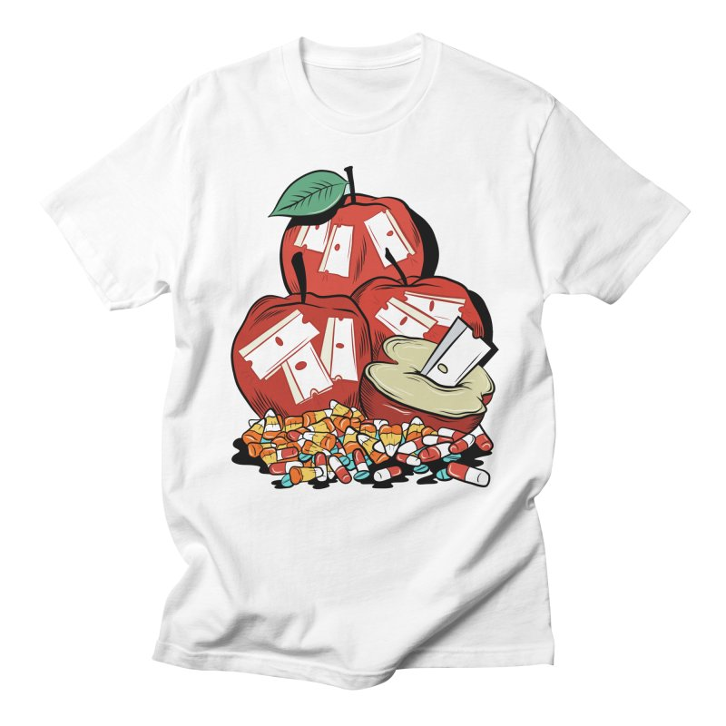 Trick or Treat Men's T-shirt by Pat Higgins Illustration