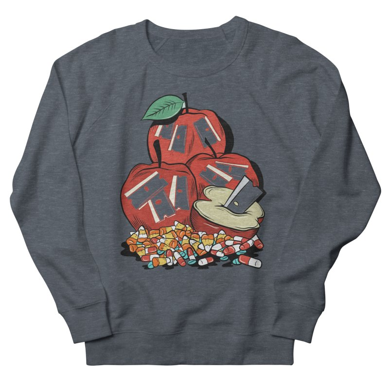 Trick or Treat Men's Sweatshirt by Pat Higgins Illustration