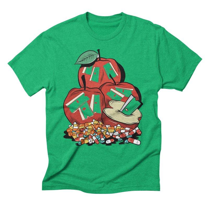 Trick or Treat Men's Triblend T-Shirt by Pat Higgins Illustration