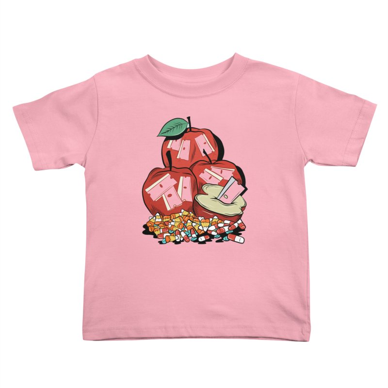 Trick or Treat Kids Toddler T-Shirt by Pat Higgins Illustration