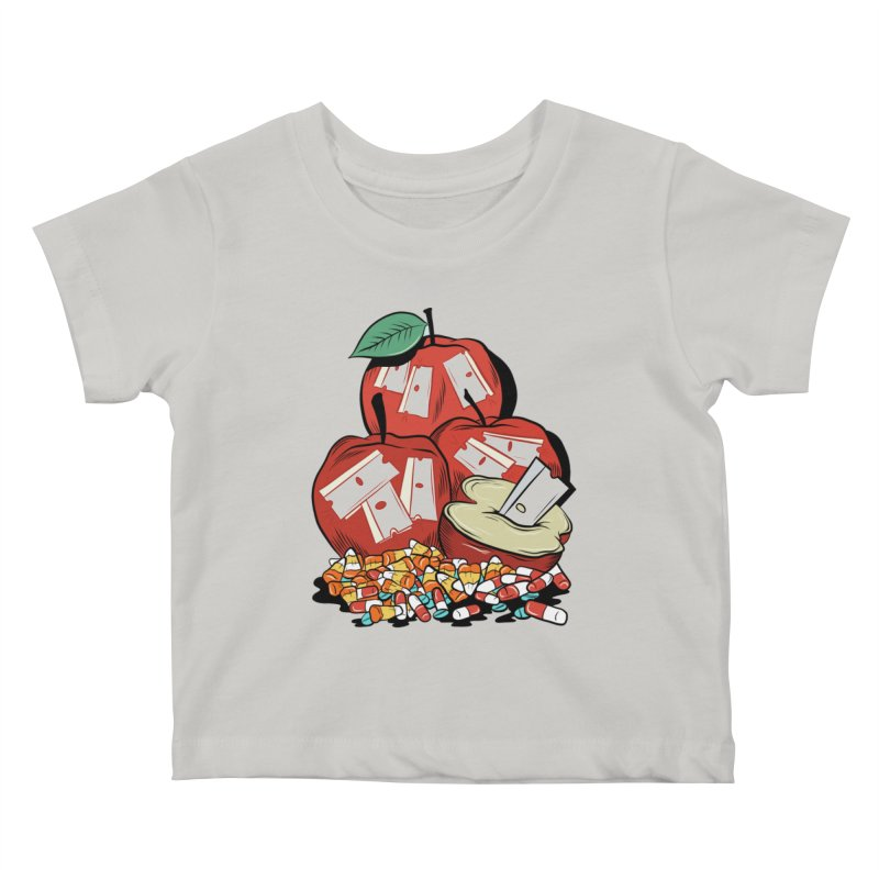 Trick or Treat Kids Baby T-Shirt by Pat Higgins Illustration