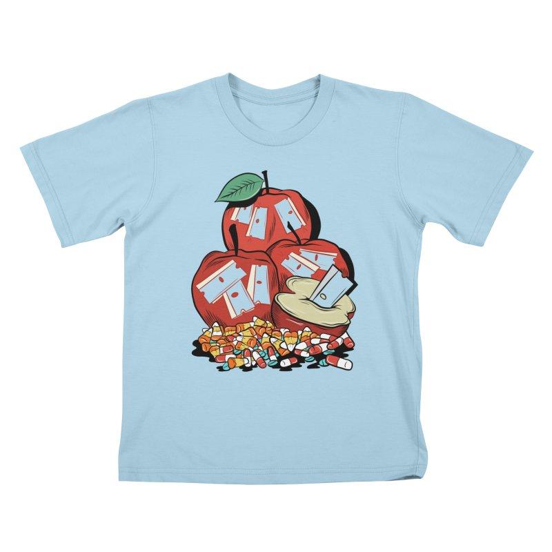 Trick or Treat Kids T-shirt by Pat Higgins Illustration