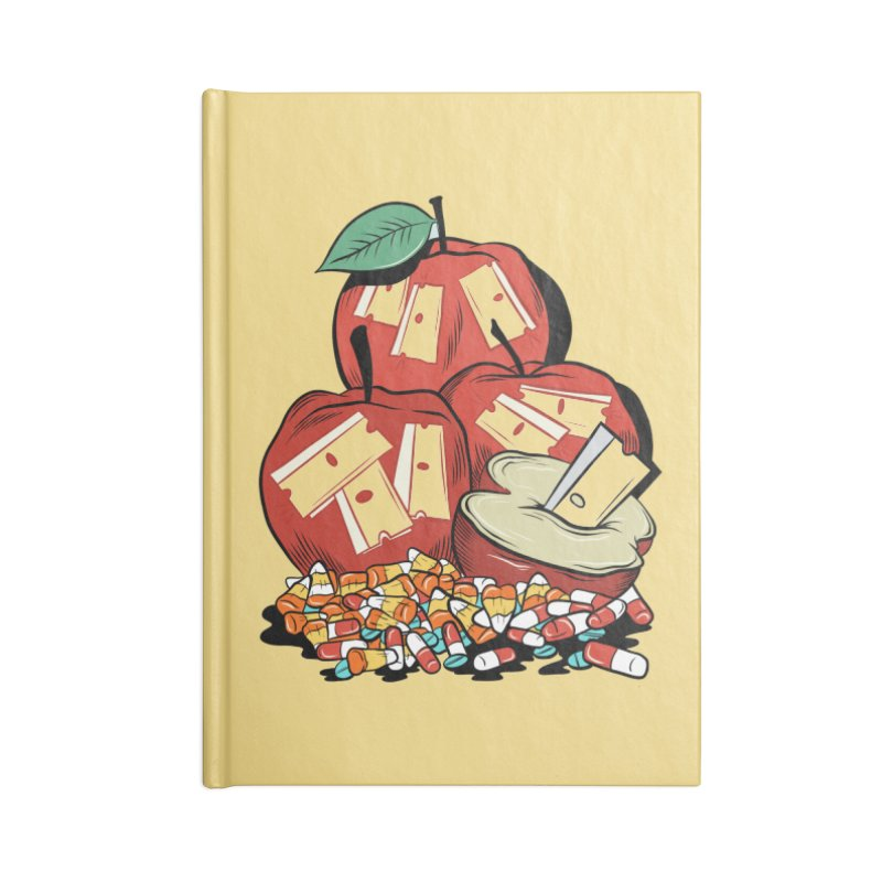 Trick or Treat Accessories Notebook by Pat Higgins Illustration