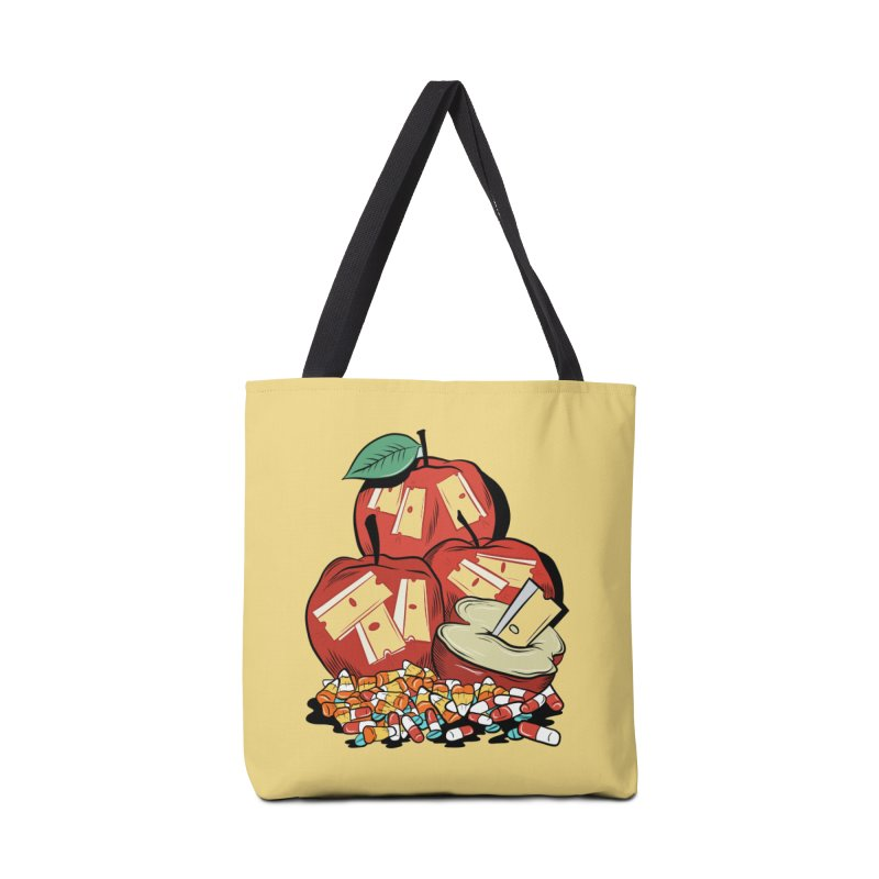 Trick or Treat Accessories Bag by Pat Higgins Illustration