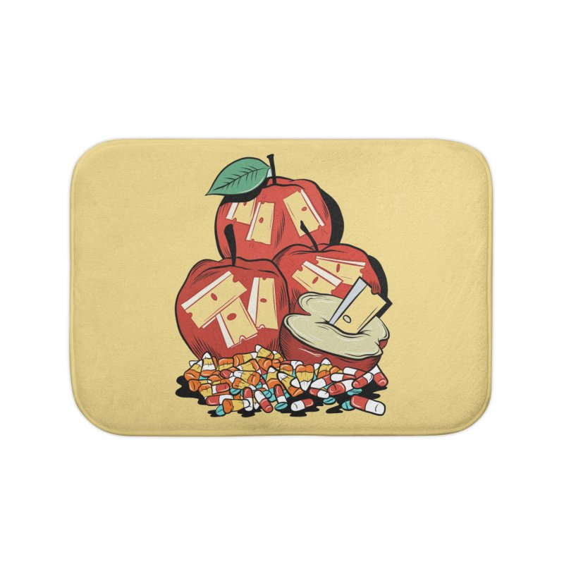 Trick or Treat Home Bath Mat by Pat Higgins Illustration