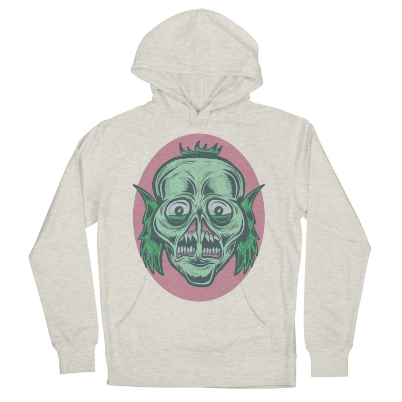 The Split Faced Creature Women's Pullover Hoody by Pat Higgins Illustration
