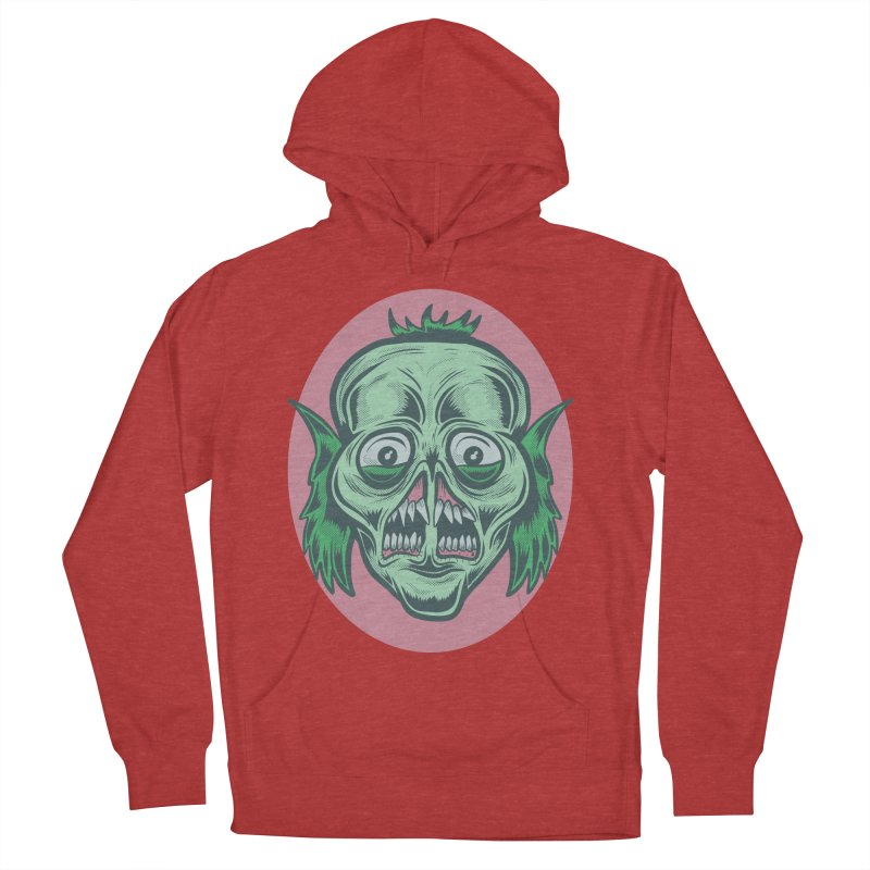 The Split Faced Creature Men's Pullover Hoody by Pat Higgins Illustration