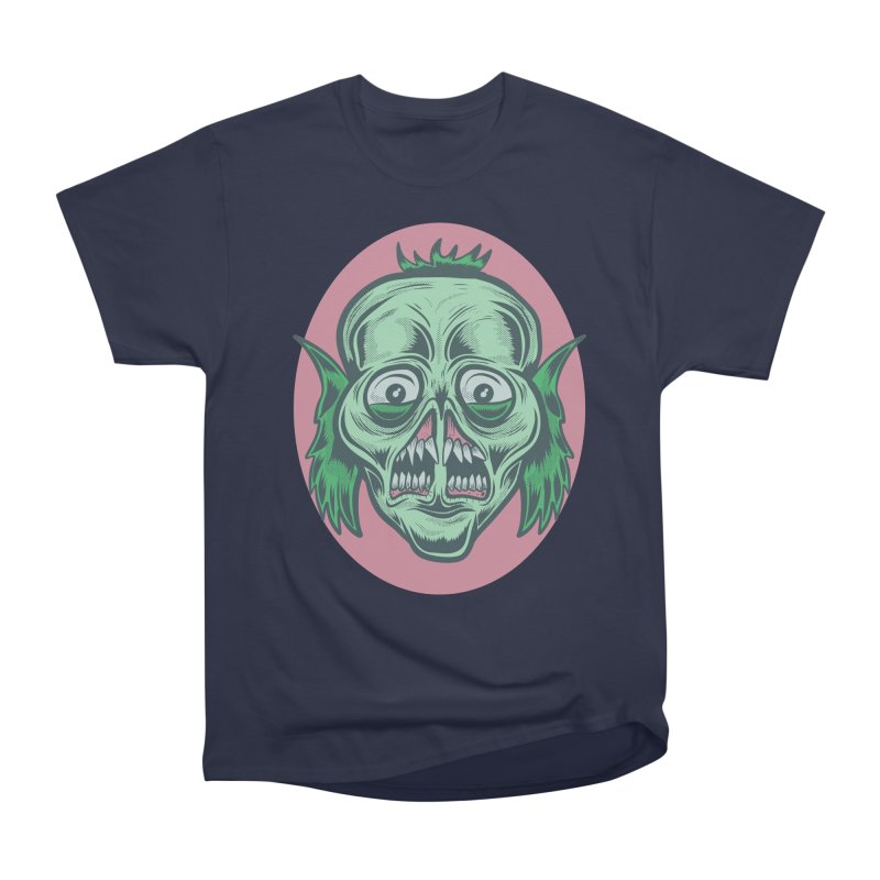 The Split Faced Creature Women's Classic Unisex T-Shirt by Pat Higgins Illustration