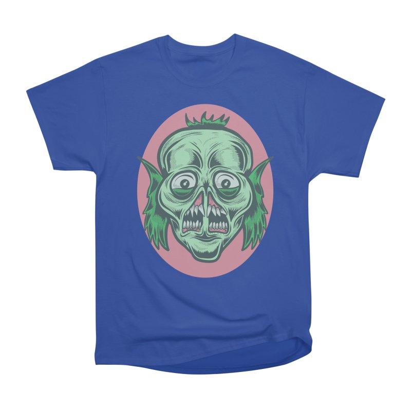The Split Faced Creature Men's Classic T-Shirt by Pat Higgins Illustration