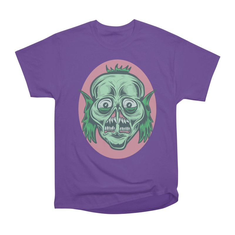 The Split Faced Creature Men's Classic T-Shirt by Pat Higgins Illustration
