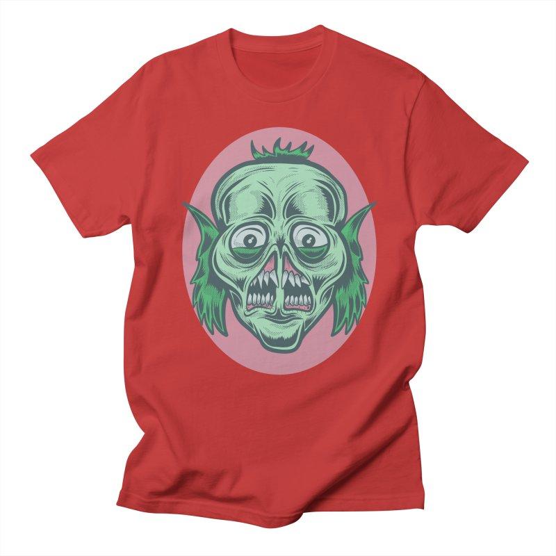 The Split Faced Creature Women's Unisex T-Shirt by Pat Higgins Illustration