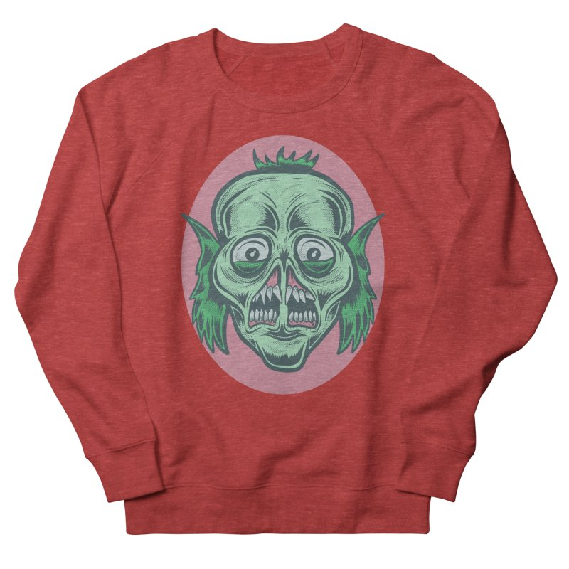 The Split Faced Creature Women's Sweatshirt by Pat Higgins Illustration