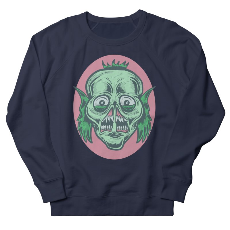 The Split Faced Creature Women's Sweatshirt by Pat Higgins Illustration