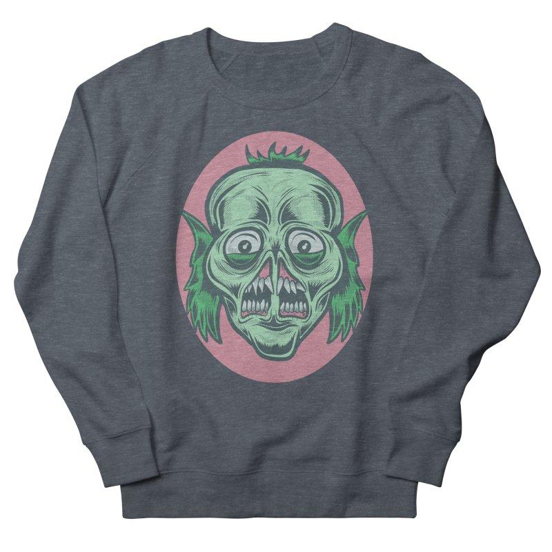 The Split Faced Creature Men's Sweatshirt by Pat Higgins Illustration