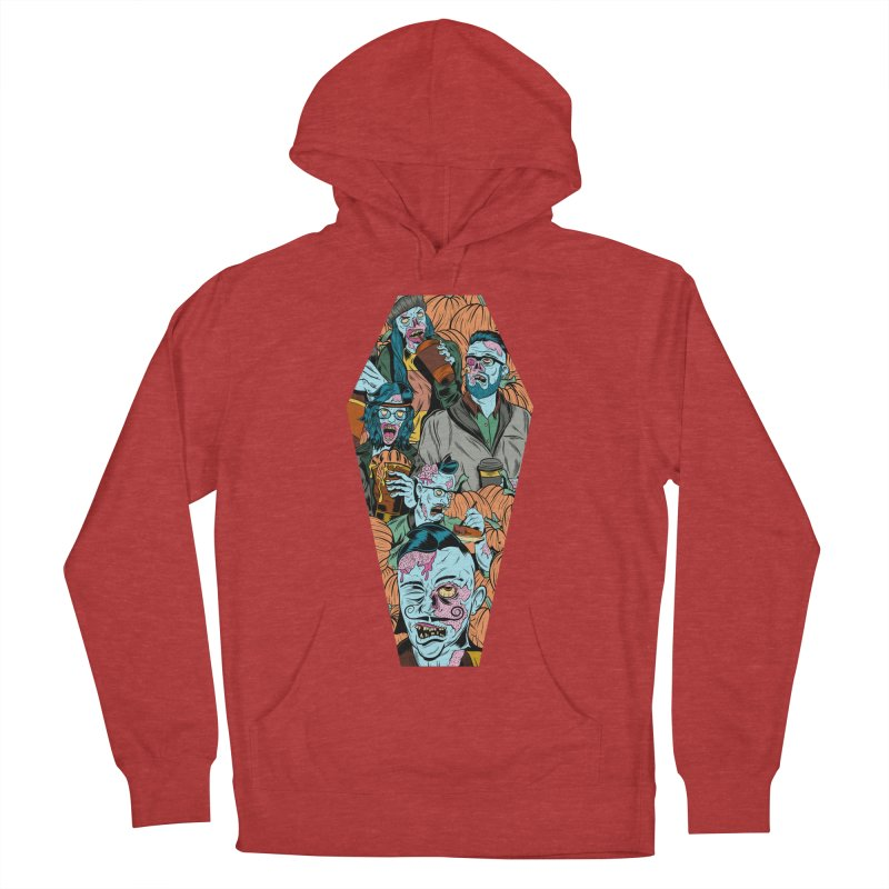 Death by Pumpkin Women's Pullover Hoody by Pat Higgins Illustration