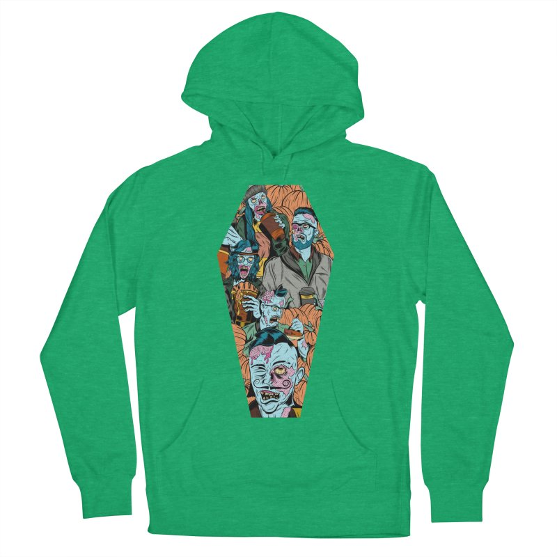 Death by Pumpkin Men's Pullover Hoody by Pat Higgins Illustration