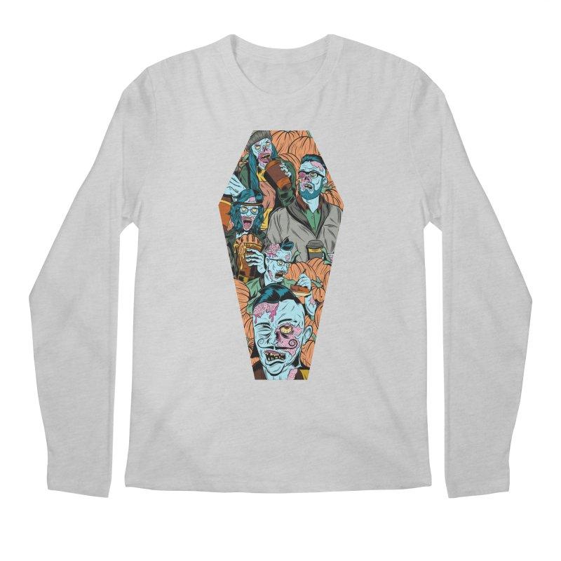 Death by Pumpkin Men's Longsleeve T-Shirt by Pat Higgins Illustration