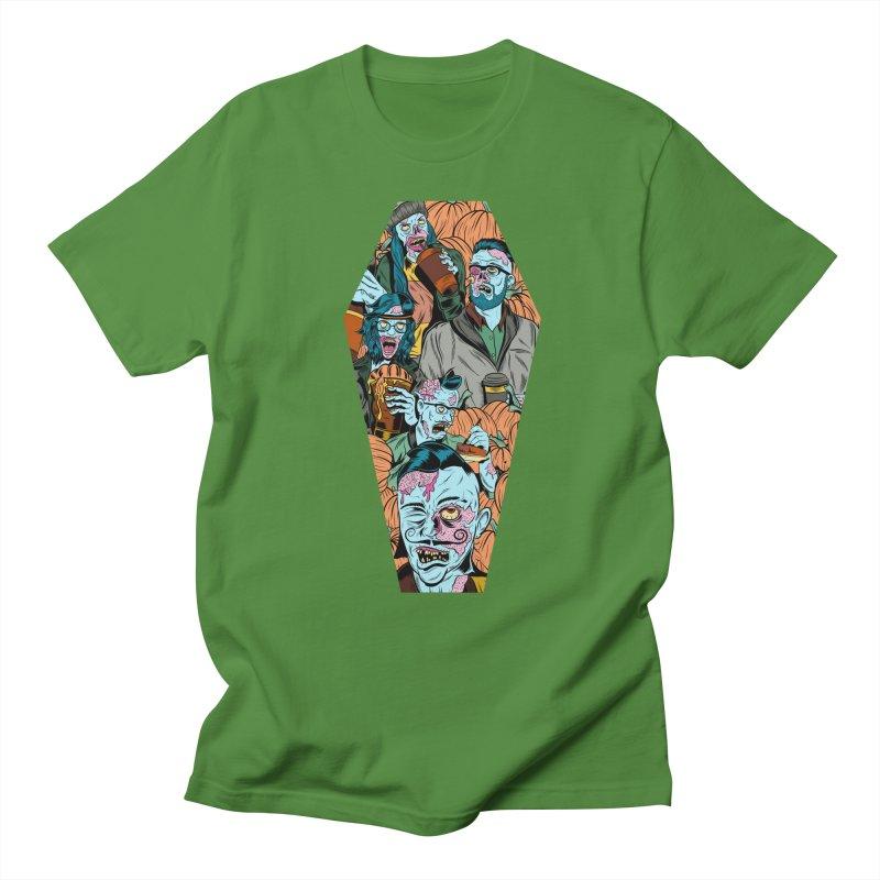 Death by Pumpkin Women's Unisex T-Shirt by Pat Higgins Illustration