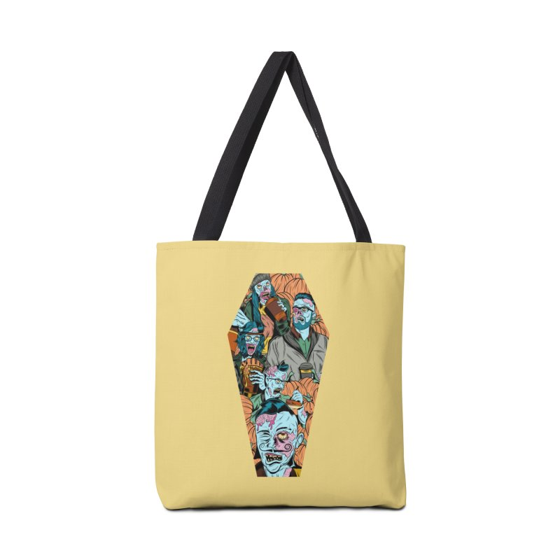 Death by Pumpkin Accessories Bag by Pat Higgins Illustration