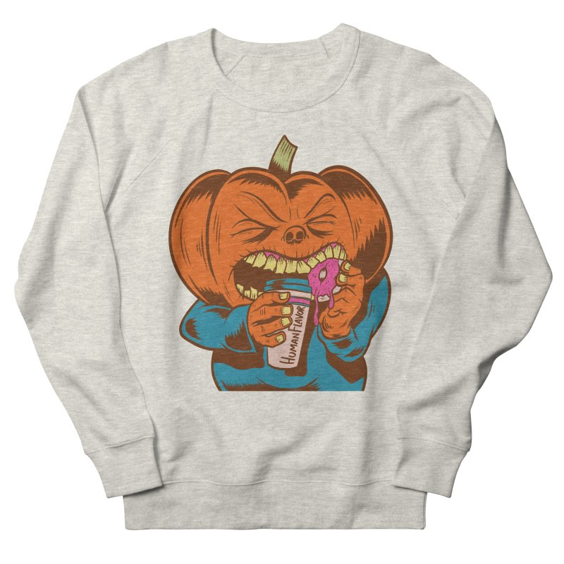 Human Latte Men's Sweatshirt by Pat Higgins Illustration