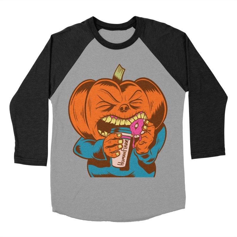 Human Latte Women's Baseball Triblend T-Shirt by Pat Higgins Illustration
