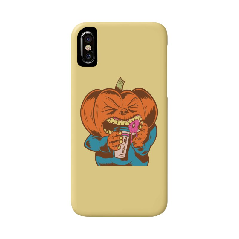 Human Latte Accessories Phone Case by Pat Higgins Illustration