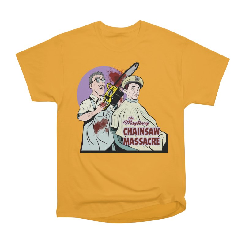 Mayberry Chainsaw Massacre Men's Classic T-Shirt by Pat Higgins Illustration