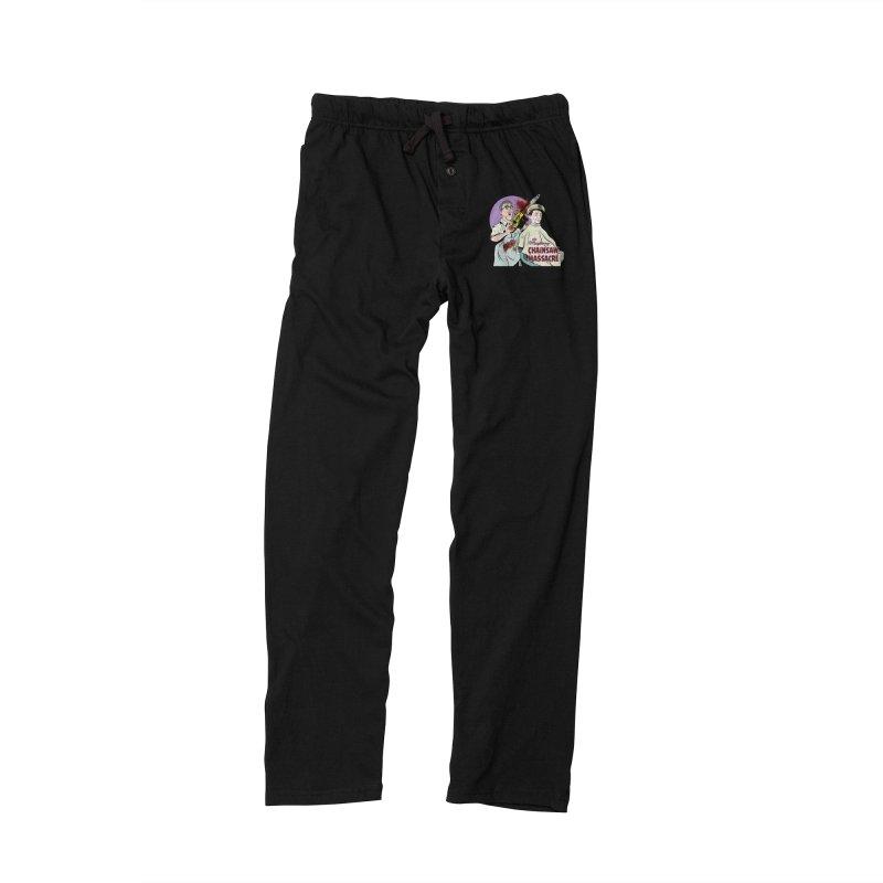 Mayberry Chainsaw Massacre Women's Lounge Pants by Pat Higgins Illustration