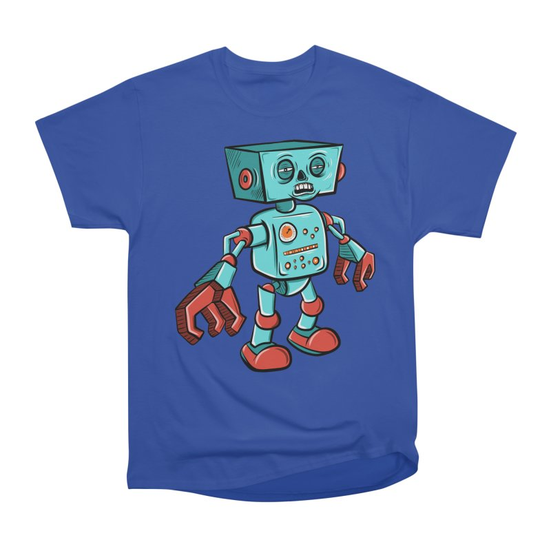62d9d9 - Astro the Android Women's Classic Unisex T-Shirt by Pat Higgins Illustration